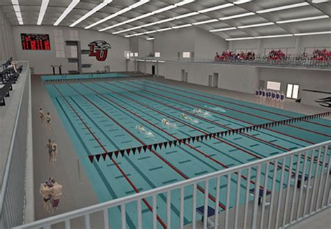 liberty university announces plans to build indoor liberty university building 50 meter pool with full diving