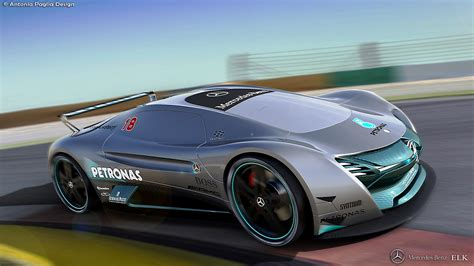 mercedes supercar mercedes elk fits the future ev supercar bill carscoops