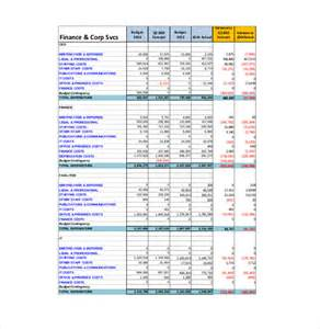 business plan budget template excel 13 business budget templates free sle exle