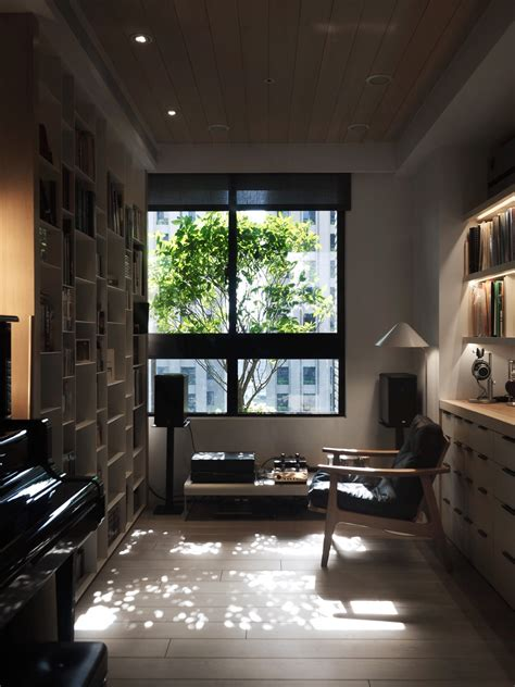 warm wood home  taiwan   beautiful cozy reading nook