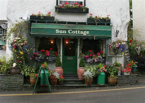 Cottage Cafe Wi by File Sun Cottage Caf 233 Hawkshead Geograph Org Uk 503287 Jpg Wikimedia Commons
