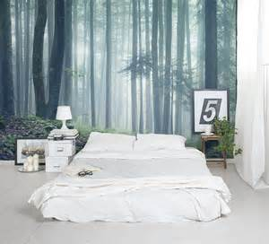 forest wall murals for a serene home decor adorable home green forest nature landscape wall paper wall print decal