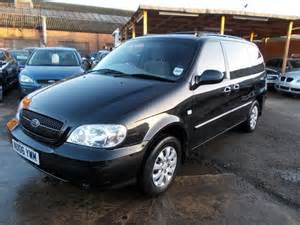 Used Kia Sedona For Sale Used Kia Sedona 2006 Petrol 2 5 V6 L 7 Estate Black With