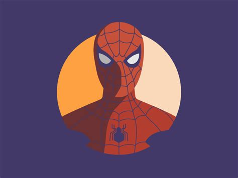 spiderman icon  jason mcneil  dribbble
