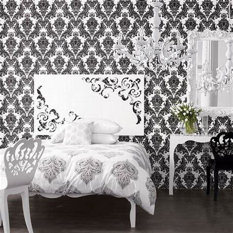 black and white wallpaper bedroom fresh decor black and white wallpaper decor for stylish room