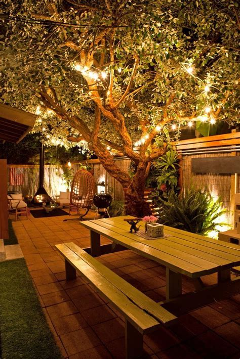 best 25 backyard lighting ideas on patio