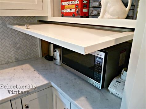 kitchen cabinet garage door hometalk a great idea for appliance garage