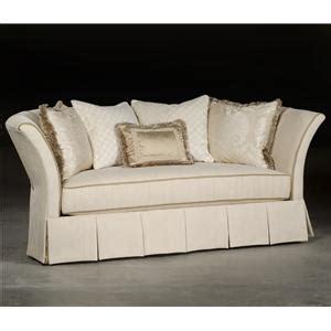 paul robert hayley traditional settee sofa with tuxedo