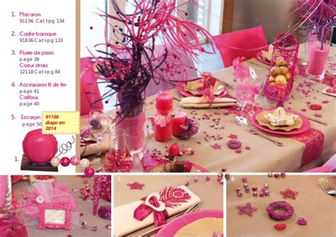 decoration catalog catalogue d 233 coration de table