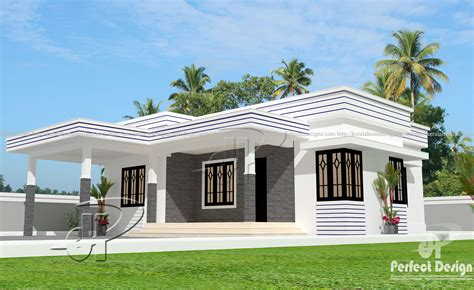 Single House Floor Plan by 925 Sq Ft Modern Home Design Kerala Home Design