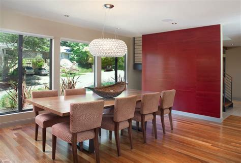 Wallpaper Ideas For Dining Room Accent Wall Ideas For Dining Room Dining Room Contemporary
