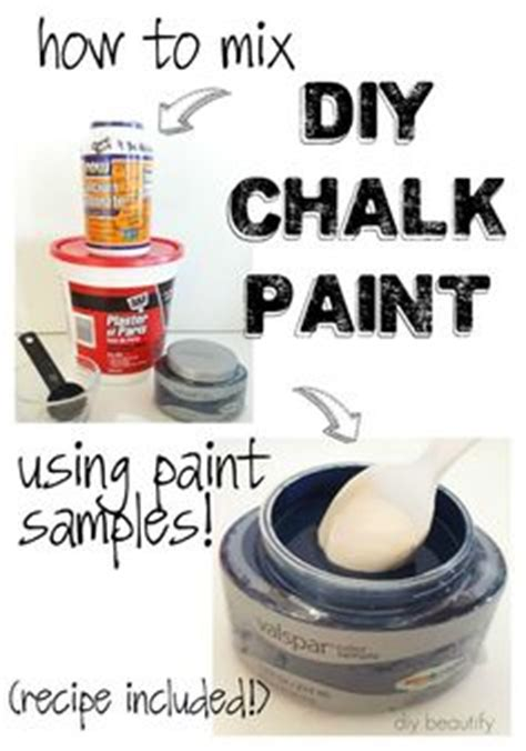 diy chalk paint satin varathane poly chalk paint this comes in satin or a