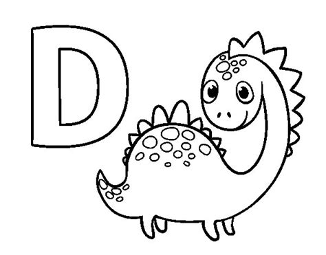 dibujos para colorear d 237 a de la madre disegno di d di dinosauro da colorare acolore com