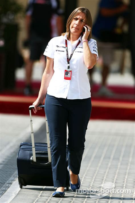 Claire Williams, Williams Deputy Team Principal at Abu