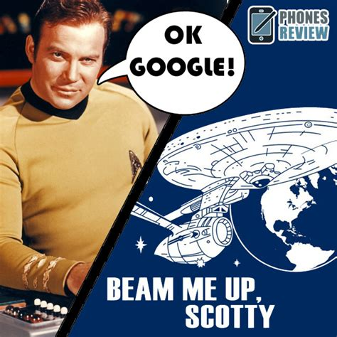 Scotty Has Been Beamed Up by Now Can Beam You Up To The Mothership