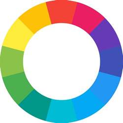 color wheel css how can i make a color wheel structure with css stack