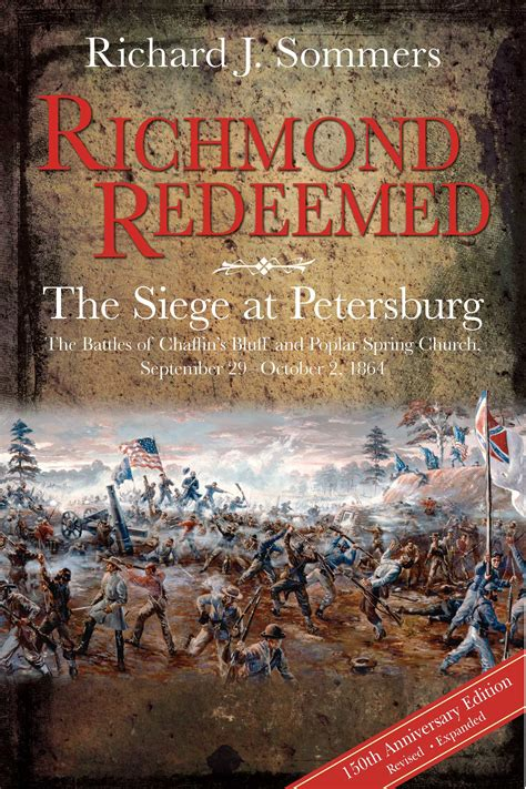 it took a redeemed books richmond redeemed the siege at petersburg 2nd edition