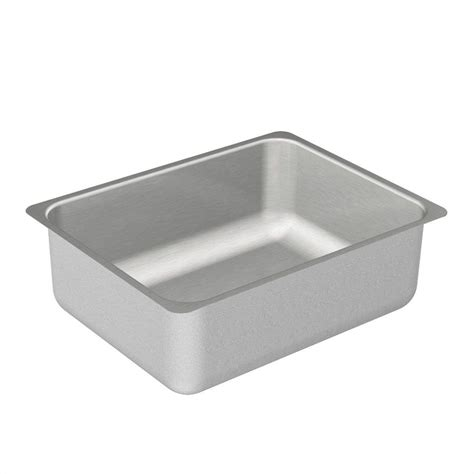 Moen Kitchen Sink Moen 2000 Series Undermount Stainless Steel 23 In Single Basin Kitchen Sink G20193 The Home Depot