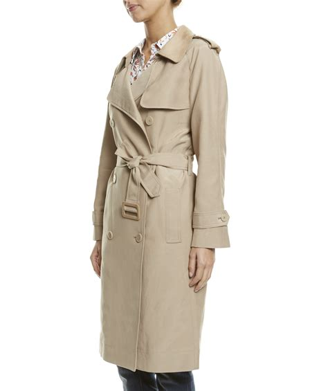 Safia Emboss Dress the iconic trench sportscraft