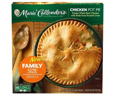 Vegetarian Pot Size L callender s debuts new family sized pot pie plus two new flavors brand