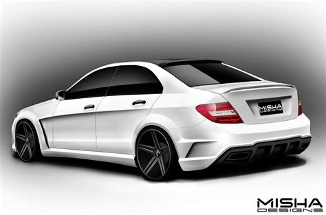 Bodykit Mercy W204 C Class Amg C63 Asli Plastik Taiwan boostaddict another w204 c class widebody kit option