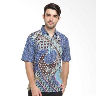 Kemeja Pria Hrcn H 1108 jual batik agrapana bhamana kemeja batik pria biru