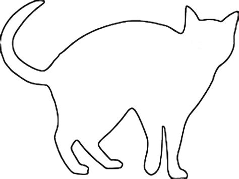 kitten outline coloring page cat outline coloring coloring pages