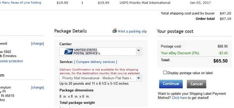 ship using paypal how do i hide postage value when using paypal ship