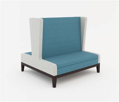 High Back Banquette Seating by Symphony Two Seat High Back Banquette Back To Back Restaurant Seating Systems From Erg