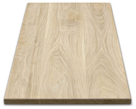 rectangular wood table tops white oak contemporary