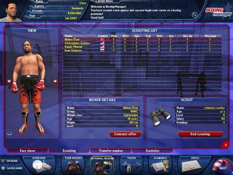universal boxing manager free full version download worldwide boxing manager game free download full version