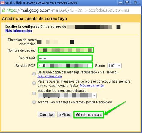 porta pop gmail c 243 mo consultar con gmail el correo de otras cuentas