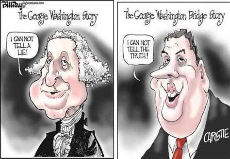george washington political cartoon 2014 political cartoons nj gov chris christie