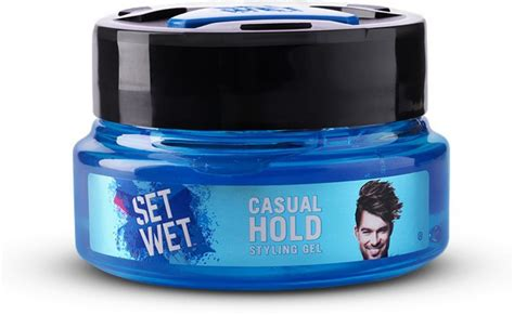 styling gel that doesn t harden set wet casual hold gel hair styler price in india buy