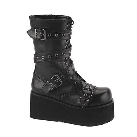 demonia mens boots demonia trashville 205 mens platform boots