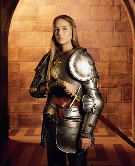 was joan of arc blonde the realm of zhu female armour ii