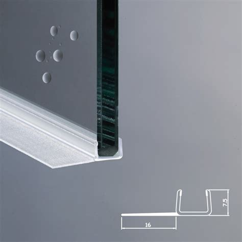 vetri box doccia profilo per box doccia per vetri di spessore da 8 mm ec 16