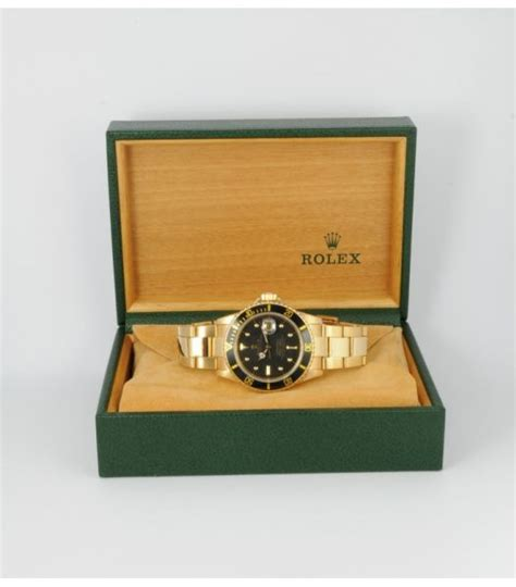 De Verre 200 1680 by Annonce Rolex Submariner 16808 Or Jaune 18k