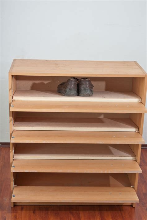 shoe rack plans desk woodoperating plans building