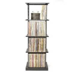 lp album storage rack 4 shelves boltz steel furniture