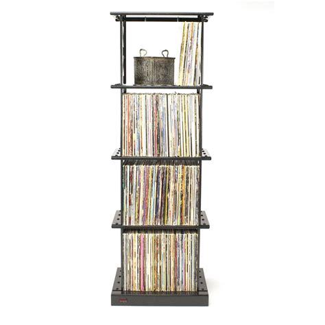 lp album storage rack 4 shelves by boltz lp storage