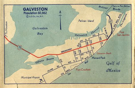 map of texas galveston highway maps of texas