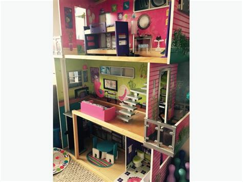 4 foot doll house 4ft wooden doll house dudley wolverhton