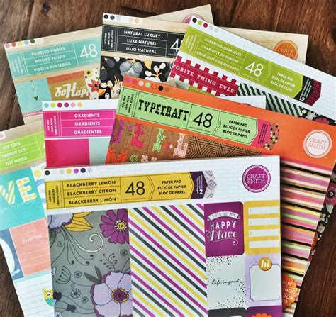 Craft Paper Pads - buy paper pads from craft smith craft smith