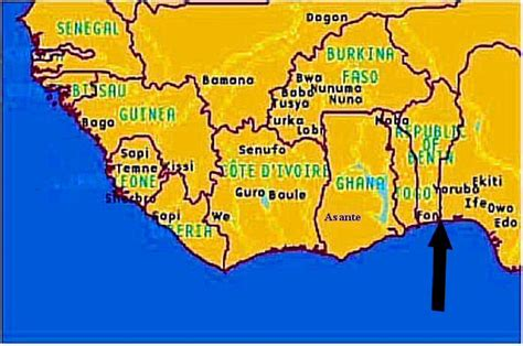 yoruba africa map yoruba ere ibeji rand