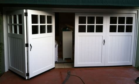 Bifold Garage Door by Bi Fold Garage Door Non Warping Patented Honeycomb