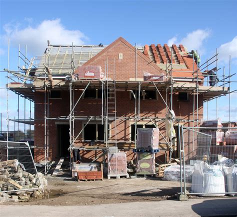build on site homes housebuilding increases gradually your mortgage