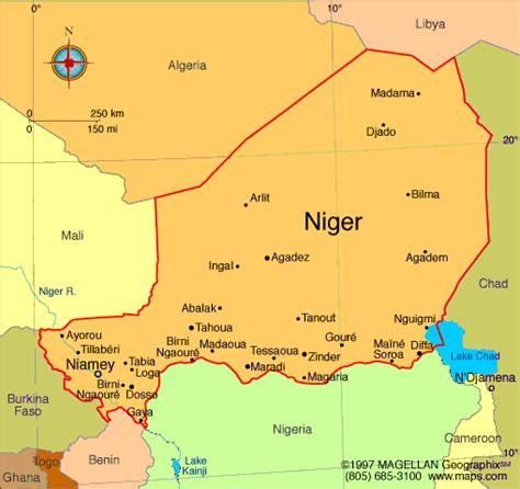 africa map niger africawiki niger