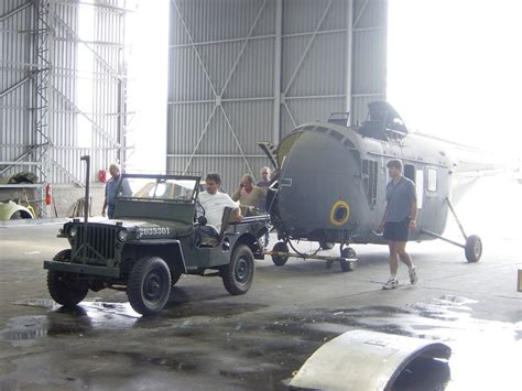 Jeep 55 S sikorsky s55 whirlwind has 22 saaf museum