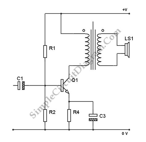 transistor lifier impedance transistor class a power lifier circuit diagram world